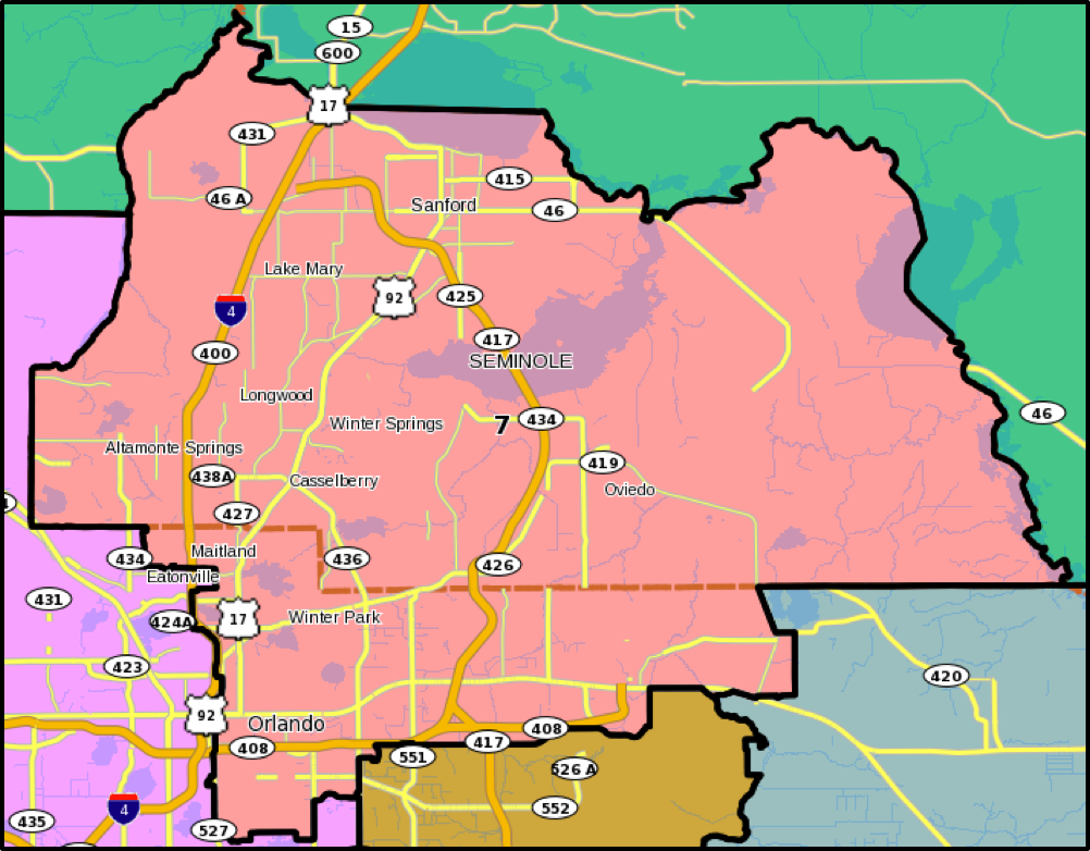 Florida Congressional District Map.About The District Stephanie Murphy