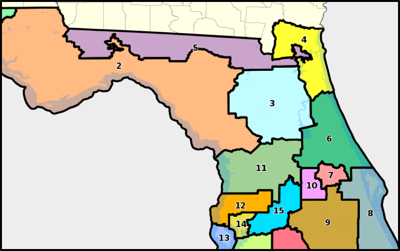 About The District Stephanie Murphy - Map of us house district 12 florida